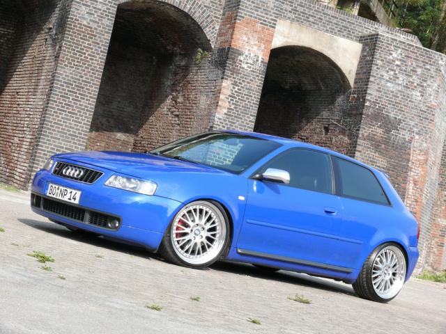 Dezenter Auftritt Audi S3 8l Blau Und Schlicht Audi A3