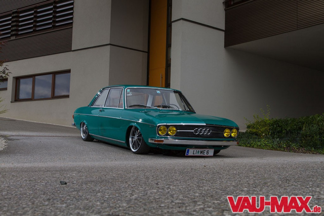 Der Hochzeits Crasher 1973er Audi 100 Ls Top Restauriert Superseltene Limousine Als Custom
