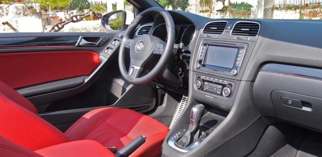 fahrbericht erste probefahrt im neuen golf 6 cabrio 2011. Black Bedroom Furniture Sets. Home Design Ideas
