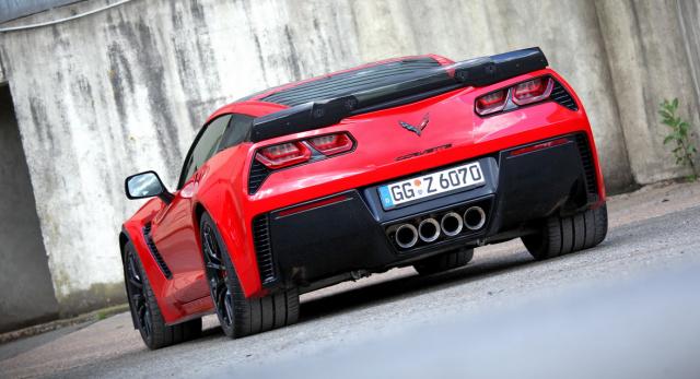 Fahrbericht Zur 659 Ps Starken Chevrolet Corvette Z06 2016