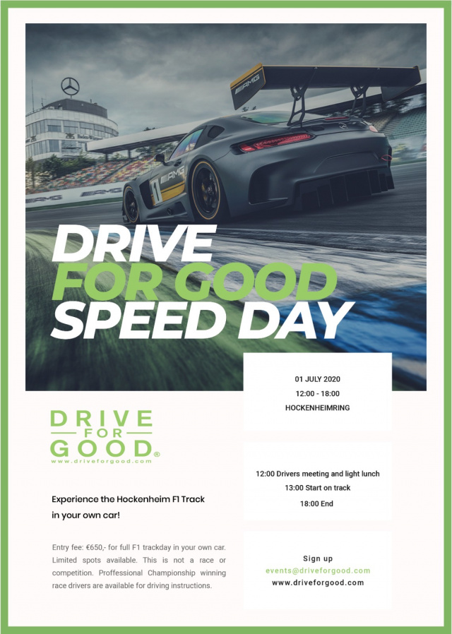 DRIVE FOR GOOD Speed Day 2020: Team Drive For Good ...