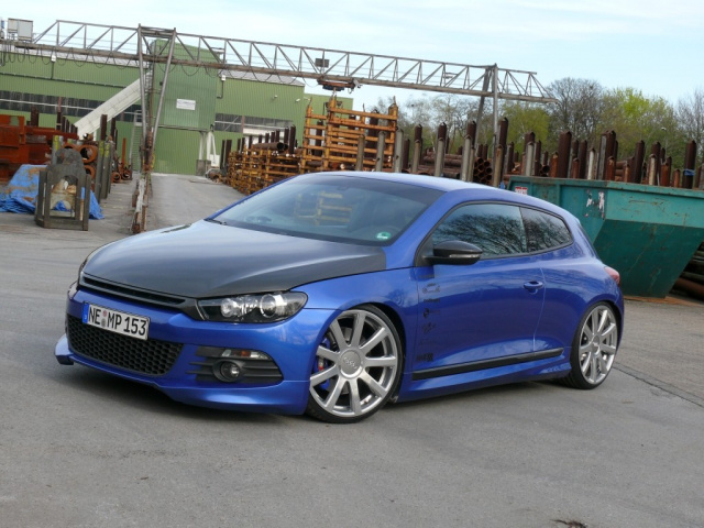 blue emotion 2008er vw scirocco tuning k nstliche. Black Bedroom Furniture Sets. Home Design Ideas