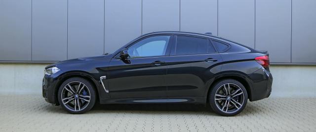 H/&R Spurverbreiterung 30mm schwarz für BMW X5 F85 F15 X6 F16