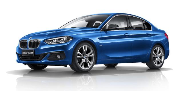 Uitgelezene Das ist der BMW 1er mit Frontantrieb: Die neue BMW 1er Limousine LO-08